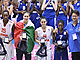 U20 European Championship Women All-Tournament team: Astou Ndour, Elisa Penna, Leticia Romero and MVP Olivia Epoupa (absent: Zofia Hruscáková)